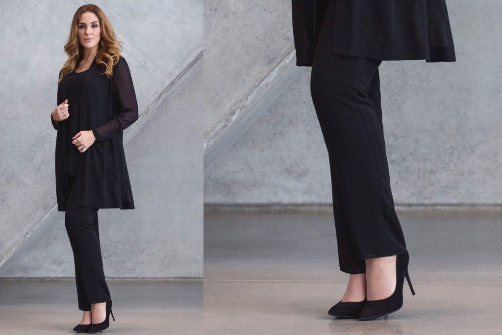 Klassiske chiffon bukser fra KK Luxury