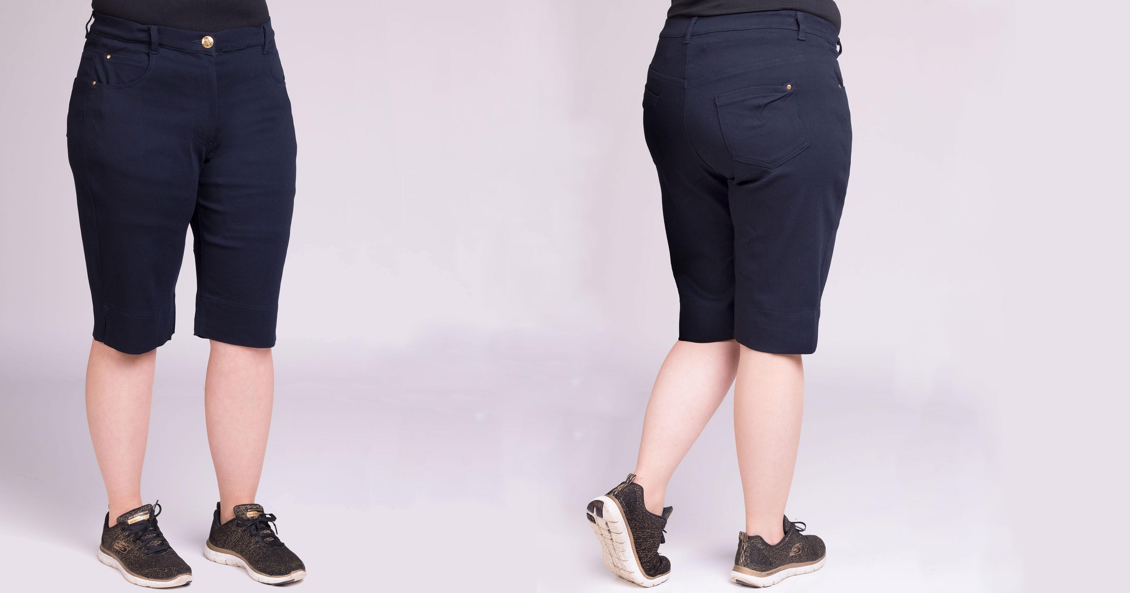 fb16a0b4 Shorts » Shorts og korte bukser i store størrelser - 46 - 40