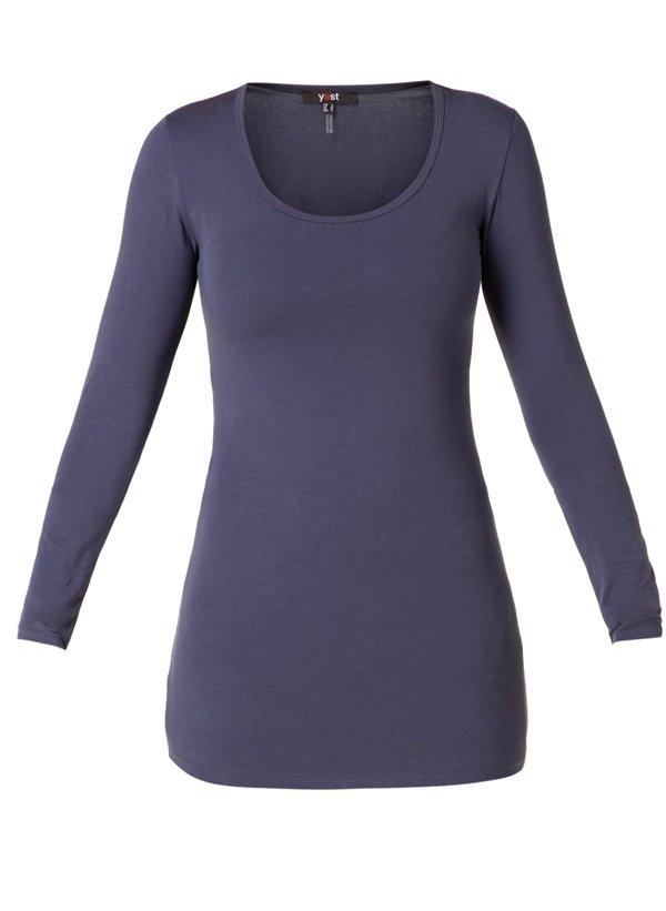 T-shirt med lange ærmer - night blue