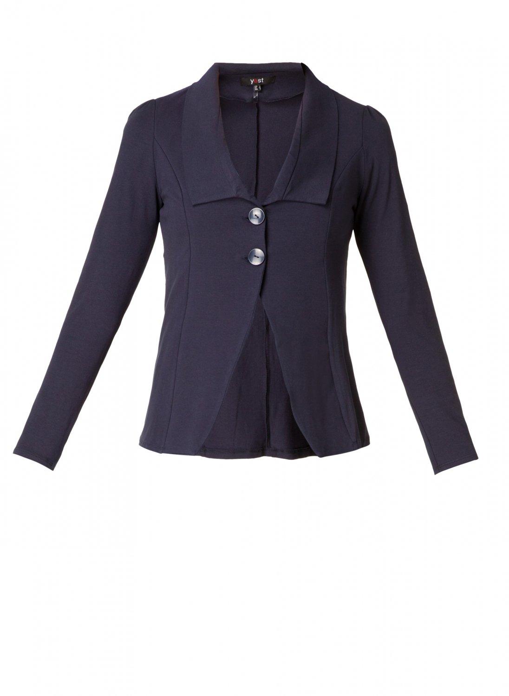 Mørkeblå habit jakke