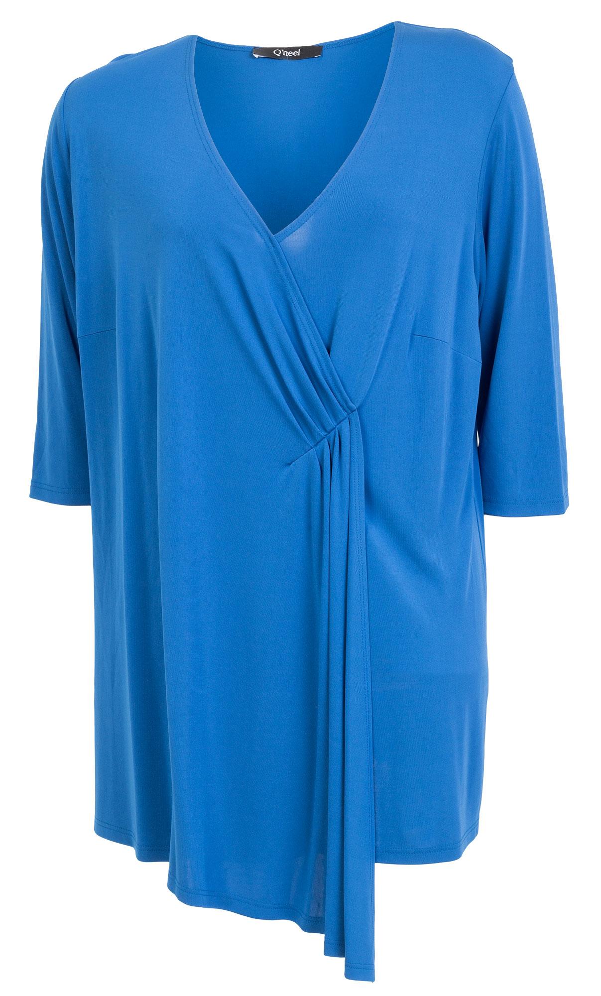 Konge blå tunika/ kjole med flotte læg
