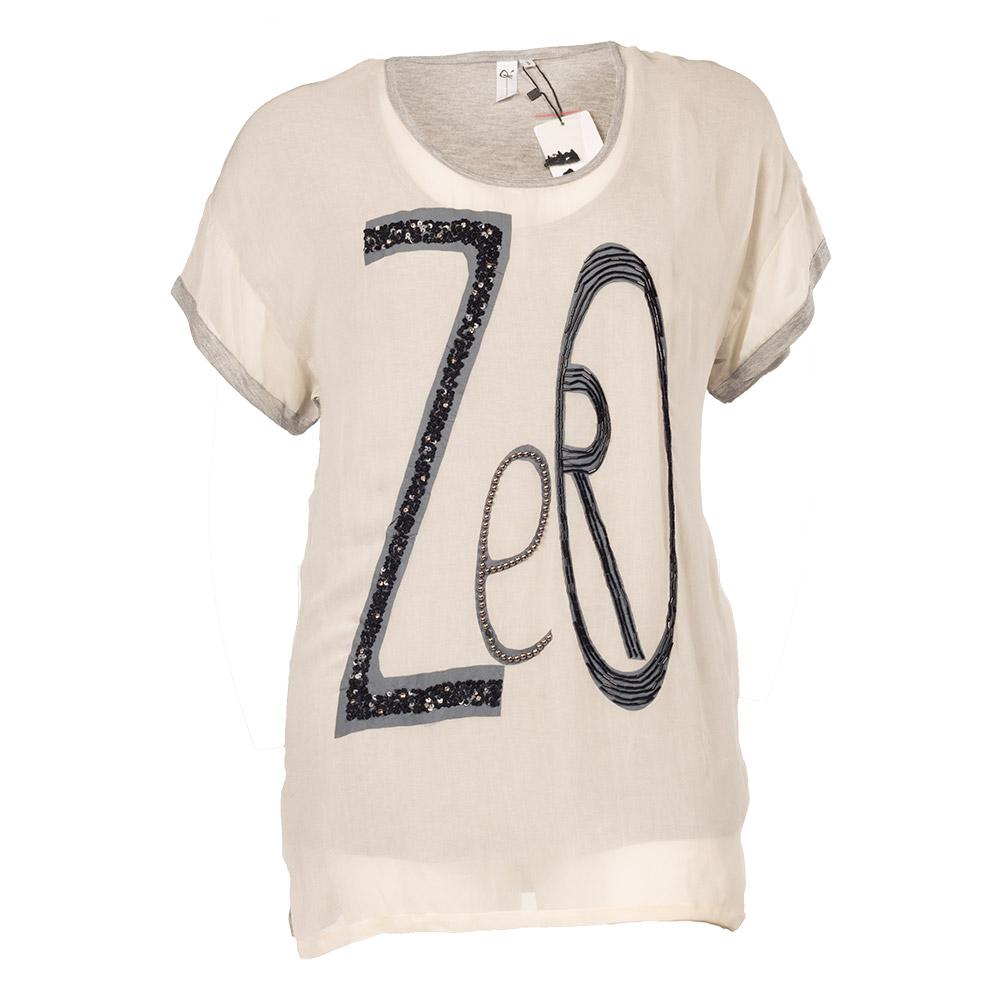 Bluse med zero