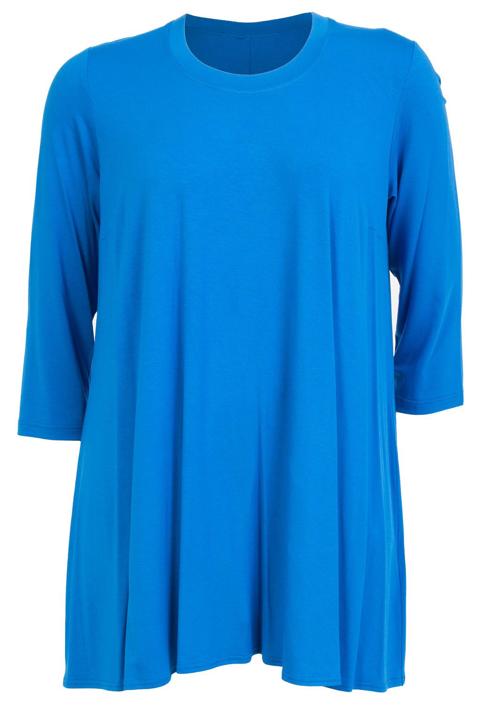Tunika / oversize t-shirt i flot kongeblå
