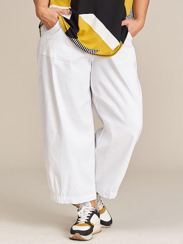 Hvide culotte bukser  fra Gozzip