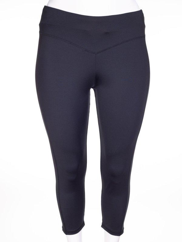 Sorte capri tights fra Aprico Sport