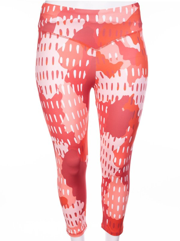Røde capri træningsbukser  fra Aprico