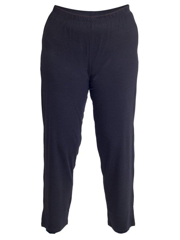 Lækre sorte pyjamas bukser i bambus fra Plaisir