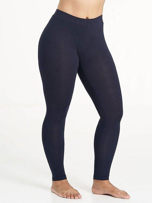 Mørkeblå viskose leggings  fra Sandgaard (fra Studio)