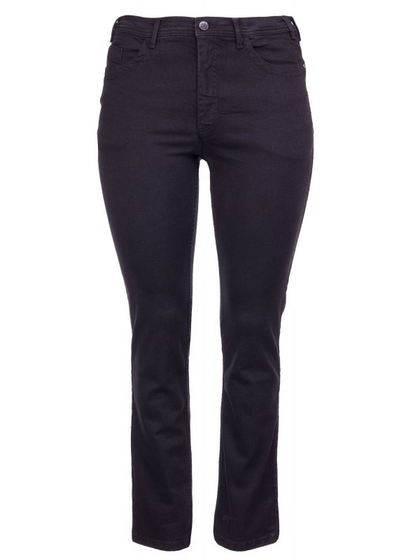 Sorte Ashley jeans med lang benlængde fra Studio