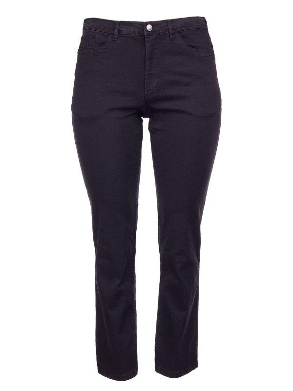 Sorte Carmen jeans med lang benlængde fra Studio