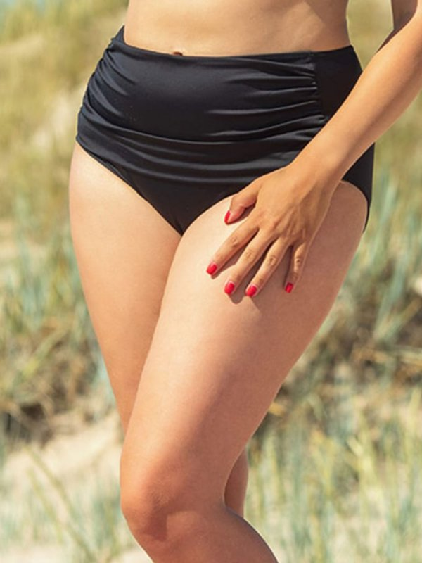 Sort bikini trusse med læg fra Plaisir