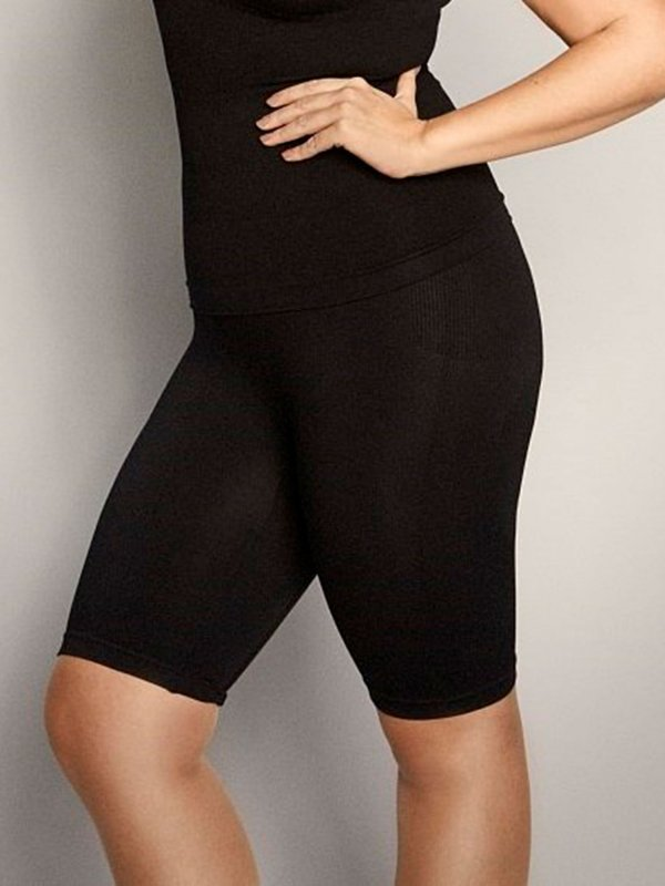 Sorte shapewear shorts fra Zhenzi