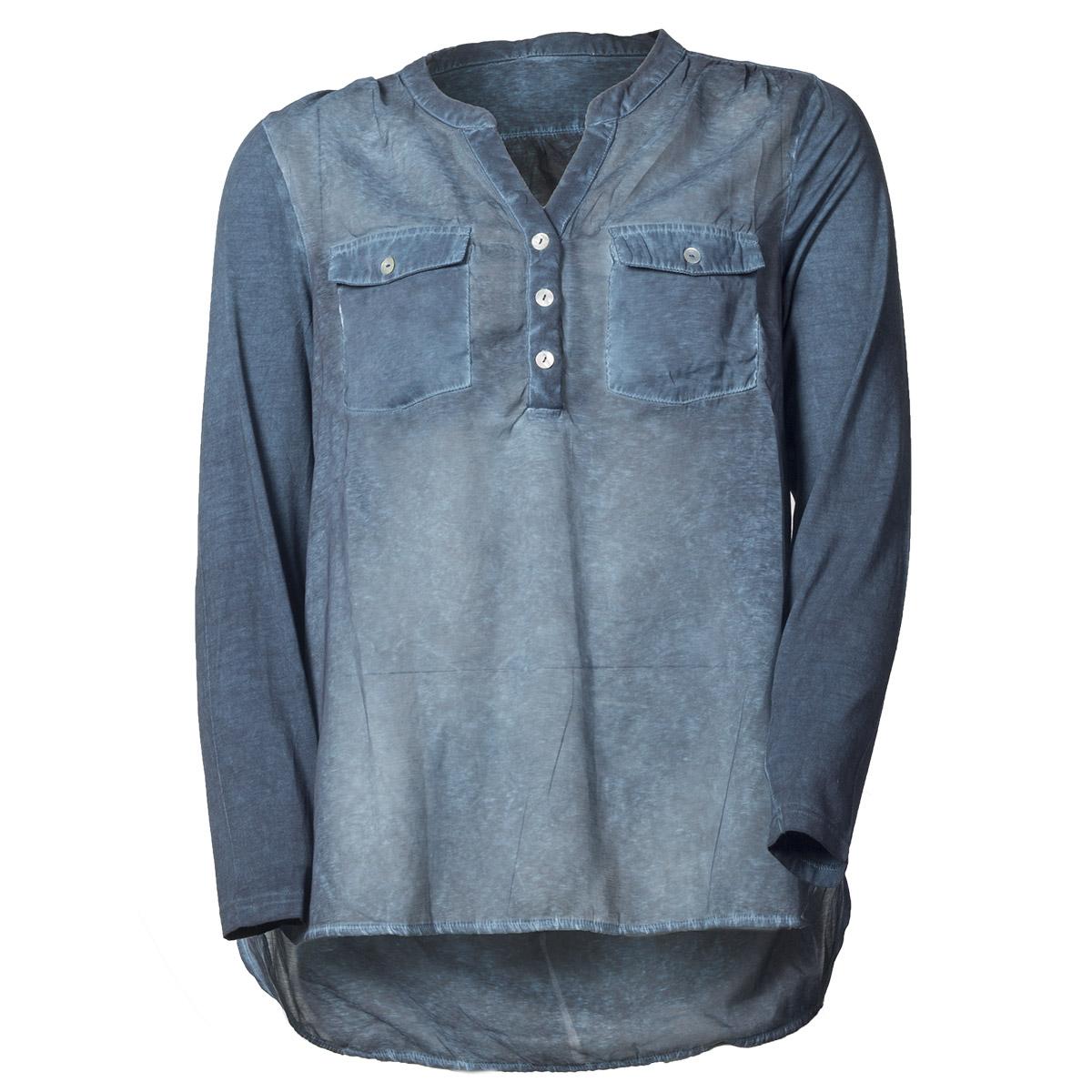 Blå skjorte fra DeLuca