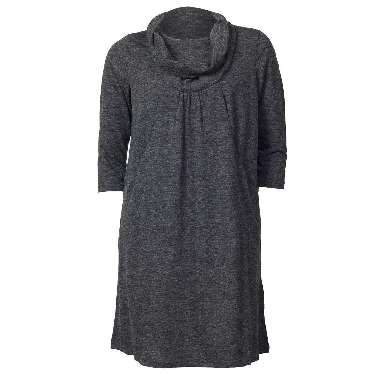 Kjole med flot halsudskæring fra DeLuca