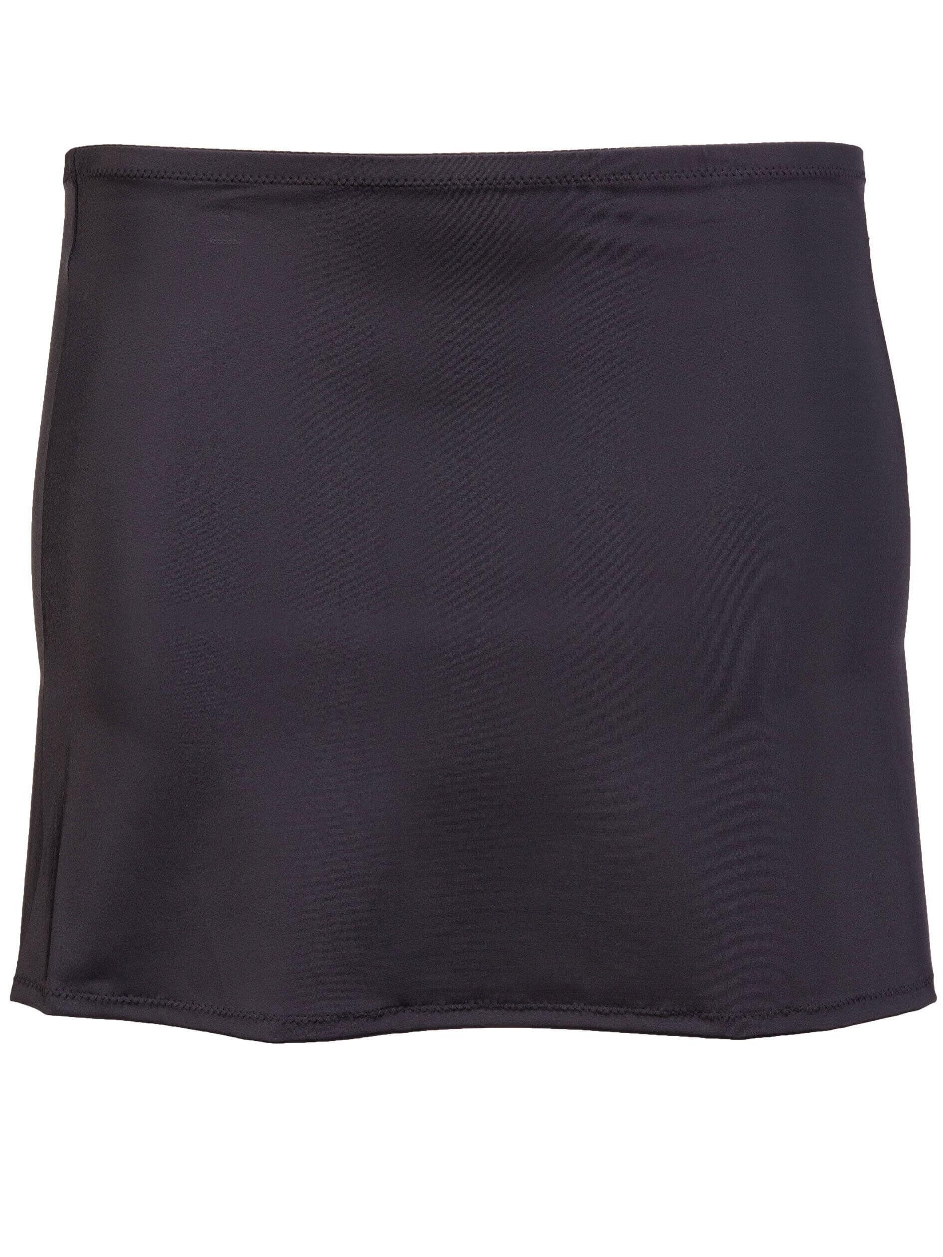 Plaisir klassisk sort bade nederdel, 54-56