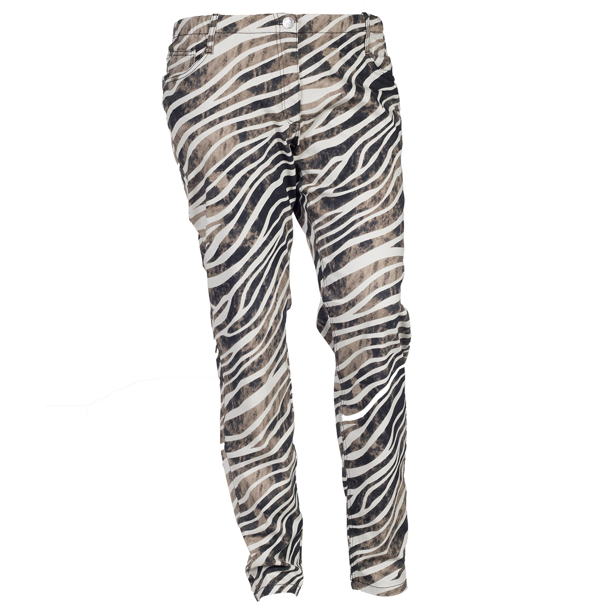 Twist jeans med dyreprint
