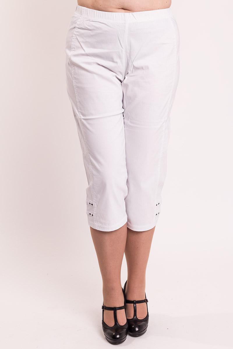 Hvide 3/4 bukser - jazzy model