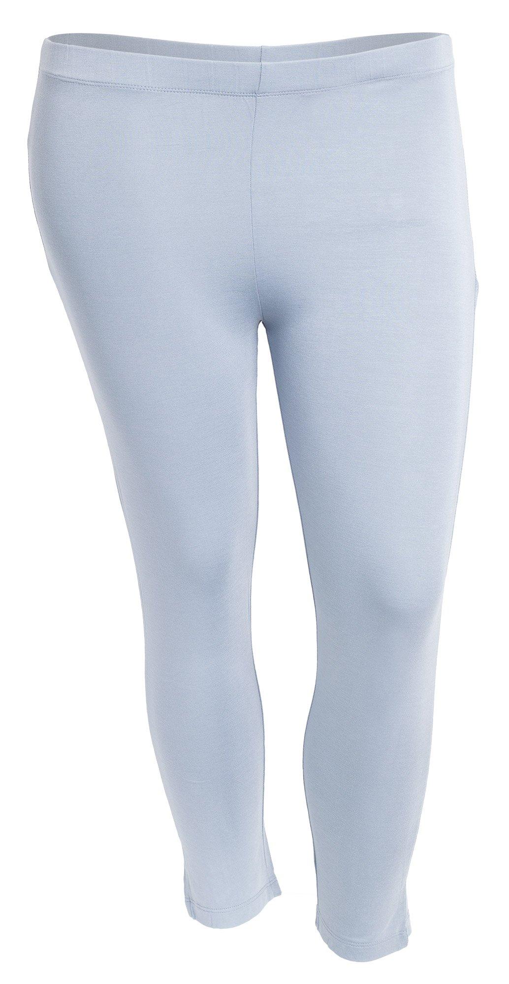 Skønne capri leggings med lynlås detalje