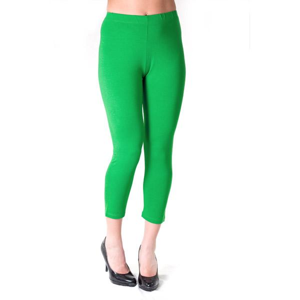 Grønne capri leggings