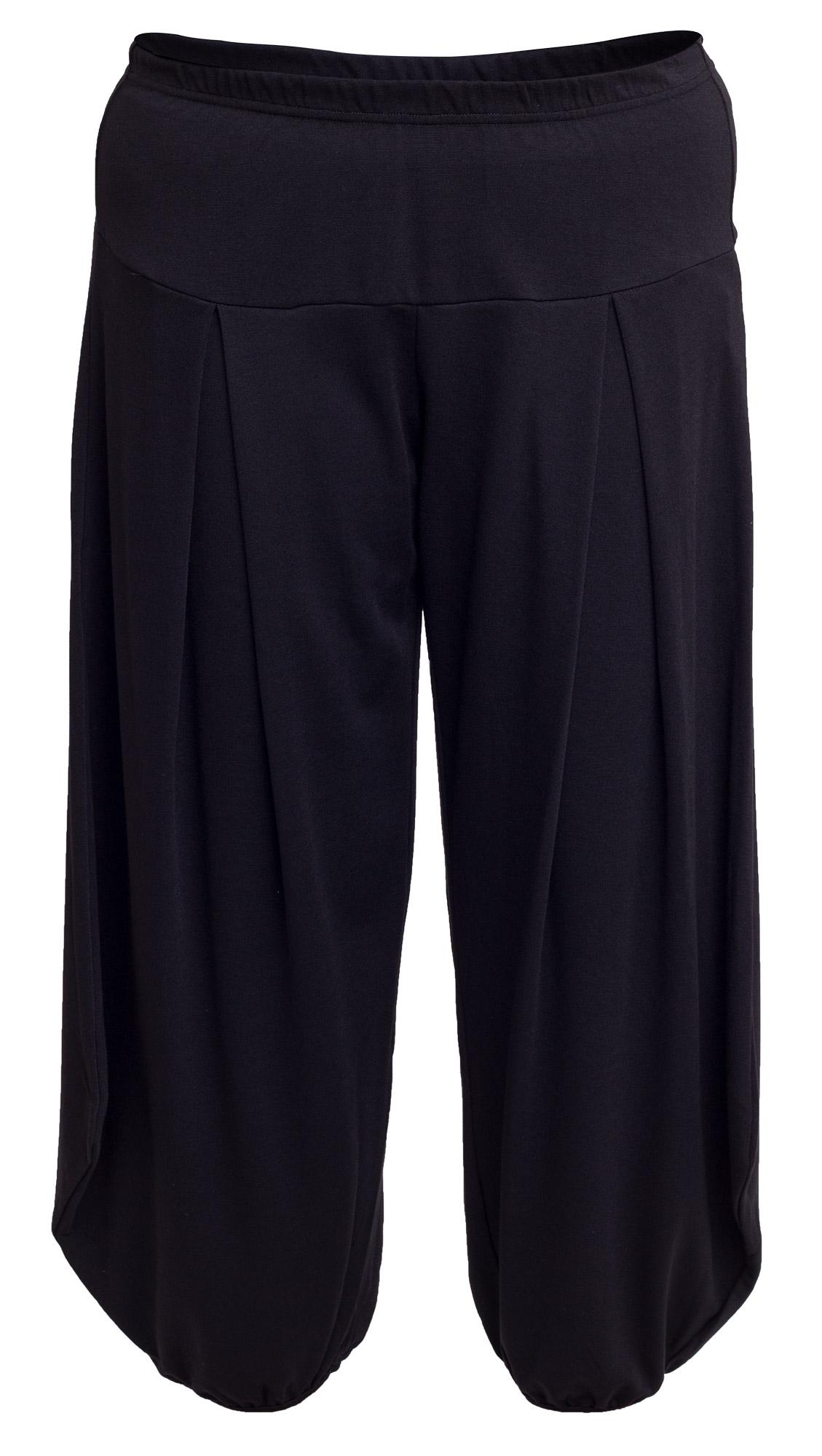Løse sorte bukser