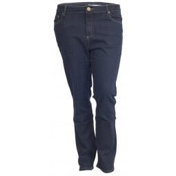 Blå jeans med stretch Fit 40