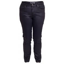 Sorte coated bukser i jeans model