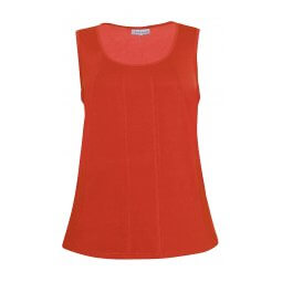 Orange rød top