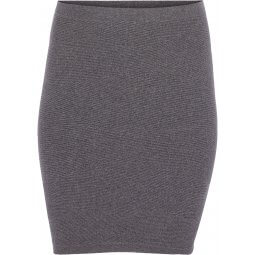 Klassisk grå pencil skirt med stretch