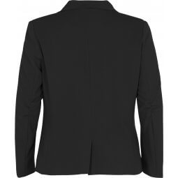 Sort blazer med revers