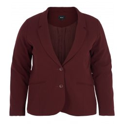 Bordeaux blazer med revers