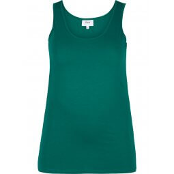 Grøn basis tanktop