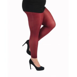 Bordeaux leggings - 50 denier