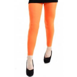 Lange, orange leggings