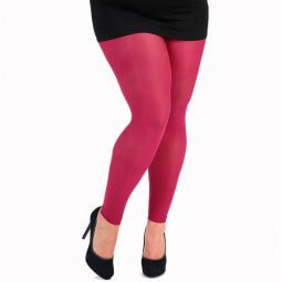 Fuchsia farvede leggings