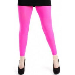 Lange, pink leggings