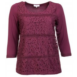 Bordeaux blonde bluse