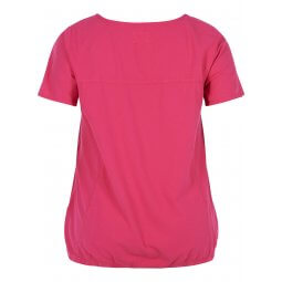 Pink T-shirt i 100% bomuld