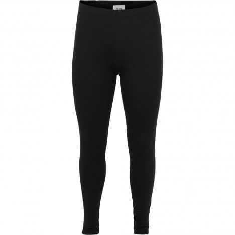 Sorte basis viskose leggings