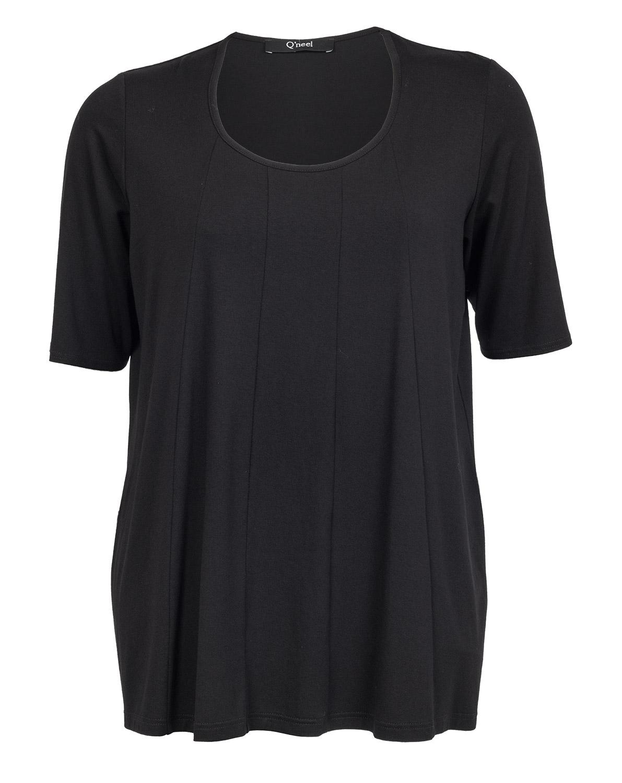 Sort t-shirt i høj kvalitet