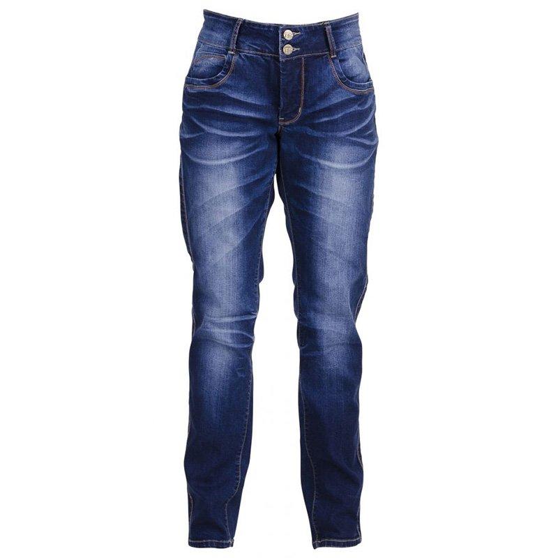 Blå jeans med flot vask fra veto