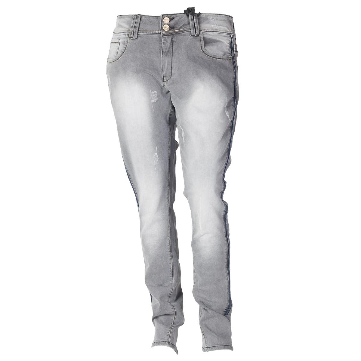 Jeans i grå denim vask fra veto