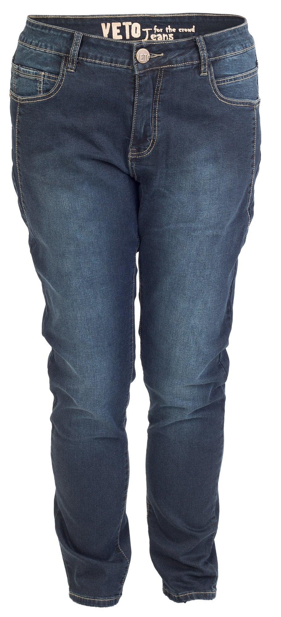 Klassiske mørke blå jeans