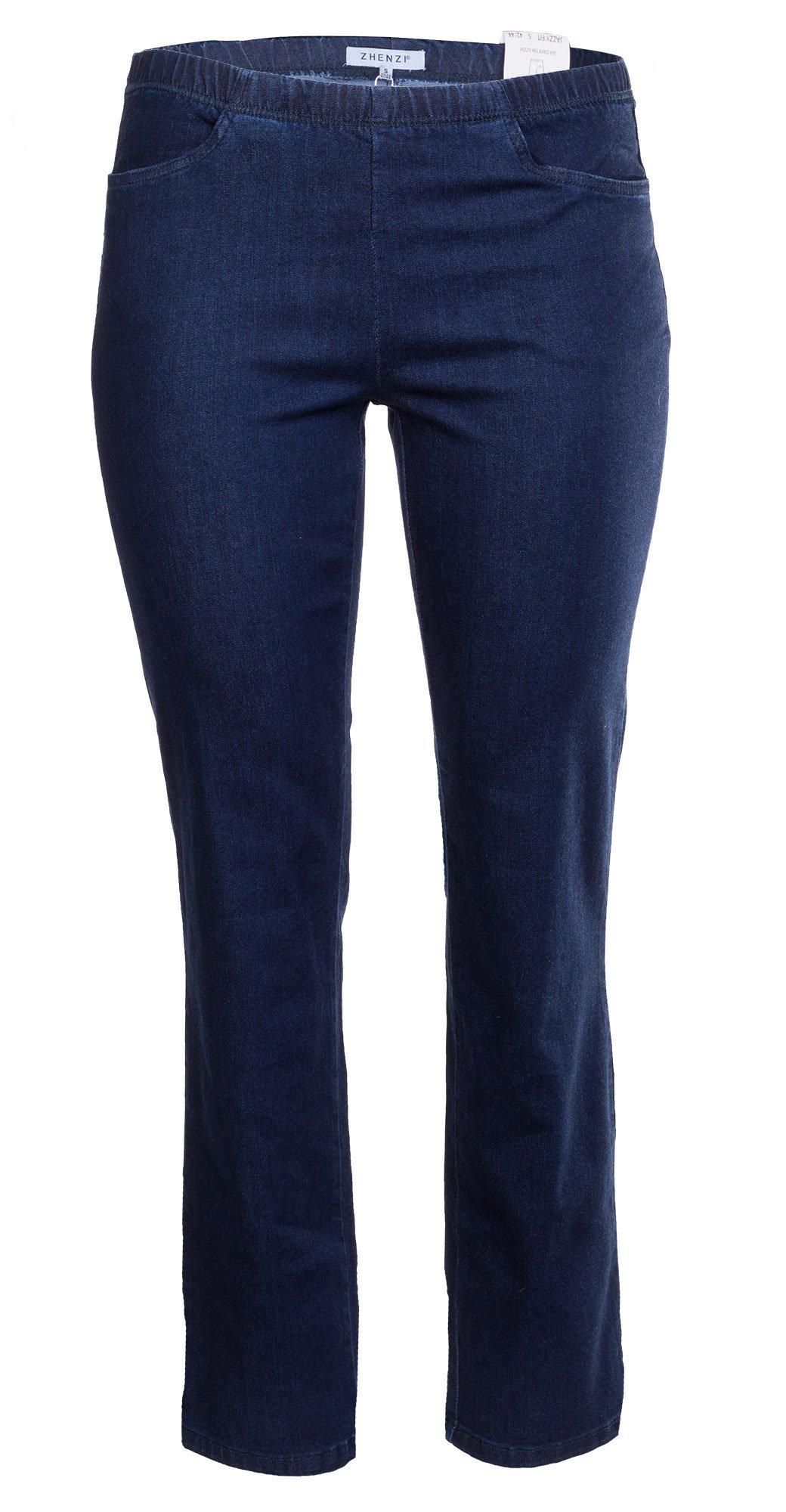 Jazzy bukser i blå denim